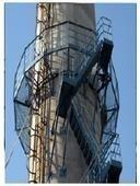 佳木斯烟囱安装防护爬梯工程预算是多少