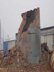汾西县水泥烟囱刷色环施工方案
