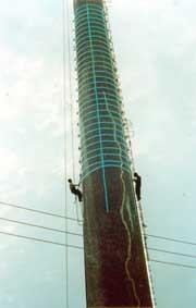 热电厂烟囱防腐让胡路区施工单位