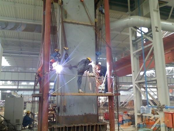宁德锅炉烟囱平台安装技术方案