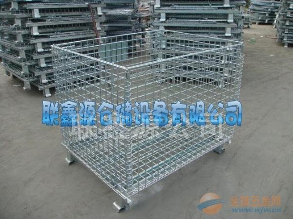深圳仓储笼厂 镀锌仓储笼图片