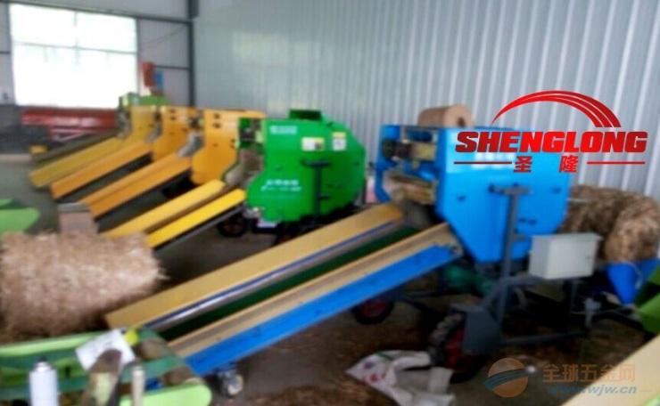 新式青储包膜打捆机 玉米秸秆青贮打捆机 操作简单