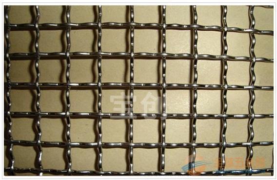 铜丝轧花网 白钢轧花网 轧花网型号