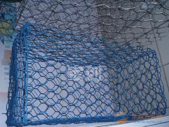 防洪石笼网 防汛石笼网 锌铝石笼网