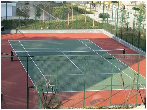 羽毛球场产品生产工艺 羽毛球场围网常用规格 羽毛球场围网产品说明