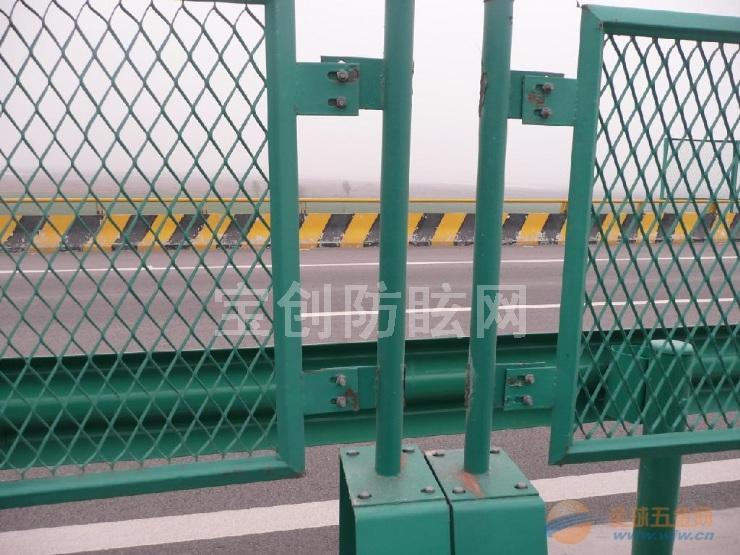 橋梁鋼板防拋護欄網施工注意事項