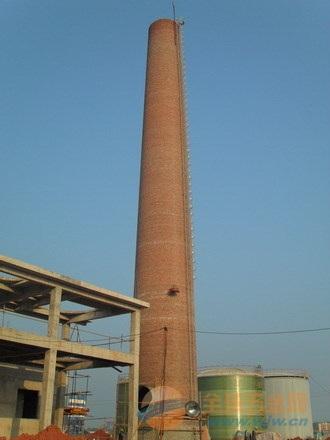 丰镇烟囱施工方案65米-85米滑模烟囱新建