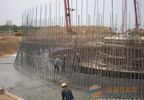 东胜烟囱施工方案65米-85米滑模烟囱新建