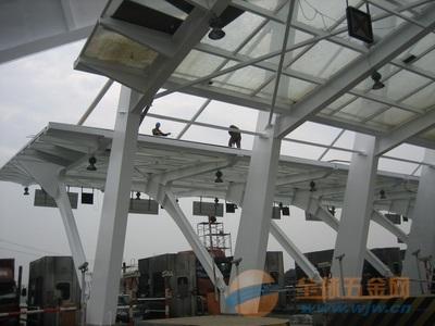 郾城区钢结构除锈美化工程