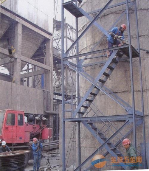 白水县烟囱安装平台/螺旋梯