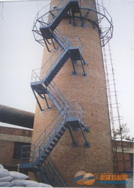 昆山烟囱安装平台/安装Z形梯