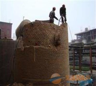 金山屯区提供烟囱拆除、爆破工程