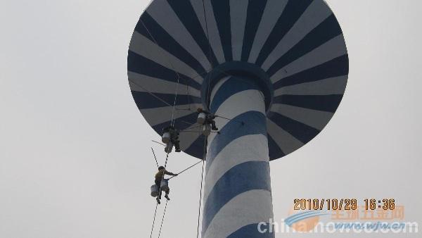 大余县提供烟囱刷油漆、刷航标美化工程