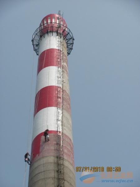 中原区提供烟囱刷油漆、刷航标美化工程