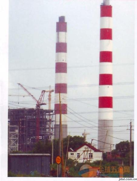 自贡承接烟囱刷油漆、刷航标美化工程
