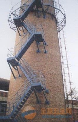 裕民县烟囱安装平台/螺旋梯