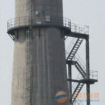 布尔津县烟囱安装平台/螺旋梯