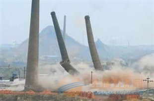 江源县提供烟囱定向爆破拆除工程