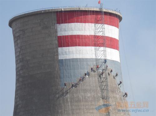 拜城县提供烟囱刷航标美化工程