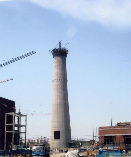 北宁烟囱施工方案65米-85米滑模烟囱新建