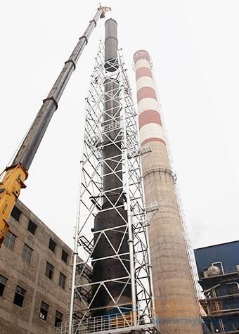 库车县提供烟囱刷航标美化工程