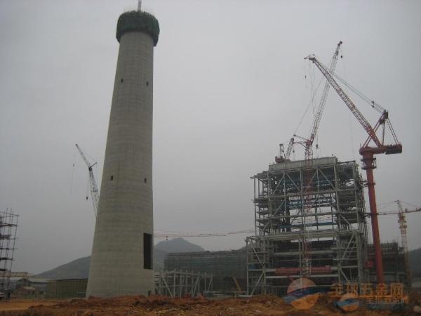 新民烟囱施工方案65米-85米滑模烟囱新建