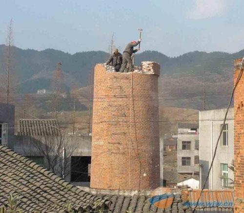 宝塔区烟囱拆除爆破工程