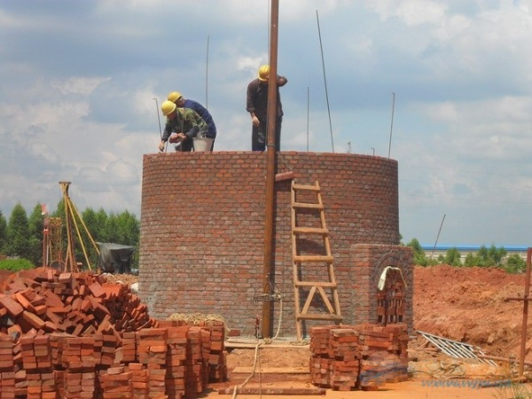 柞水县烟囱拆除爆破工程