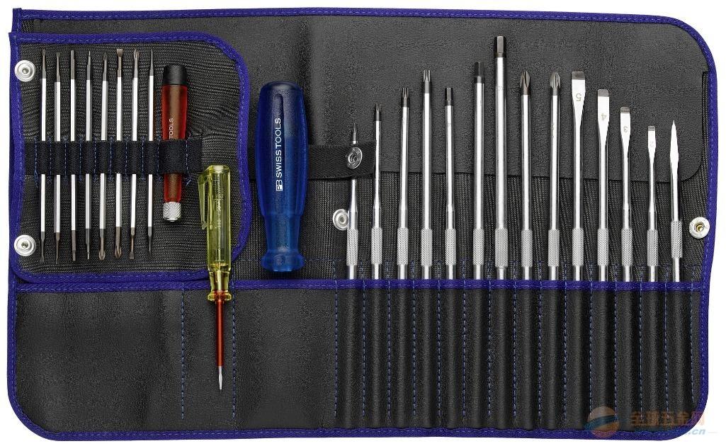 代理瑞士PB工具 电工套装螺丝刀 PB 9515.BIue