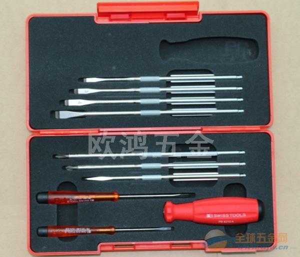 瑞士PB 8215.Box 工具套装可换多杆一字十字螺丝刀组