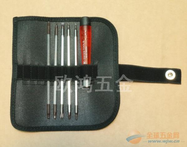 原装瑞士PB 511 精密电子一字十字六角5支杆套装螺丝批