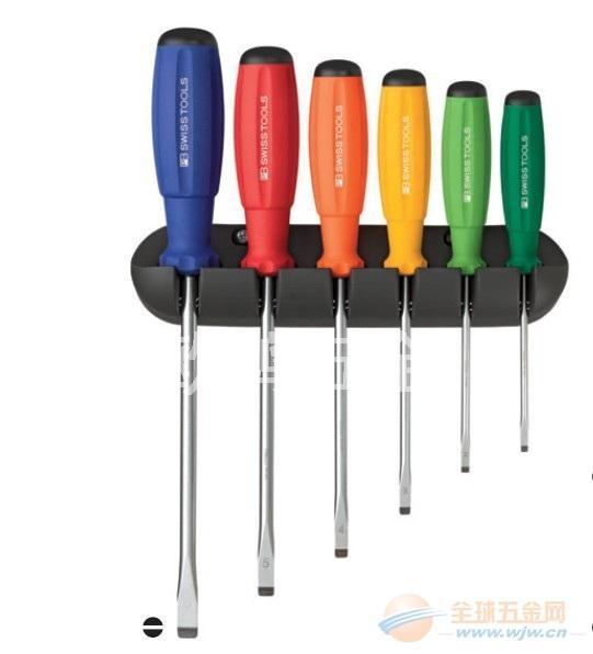 进口瑞士PB工具 彩色套装一字螺丝批 PB 8240.RB