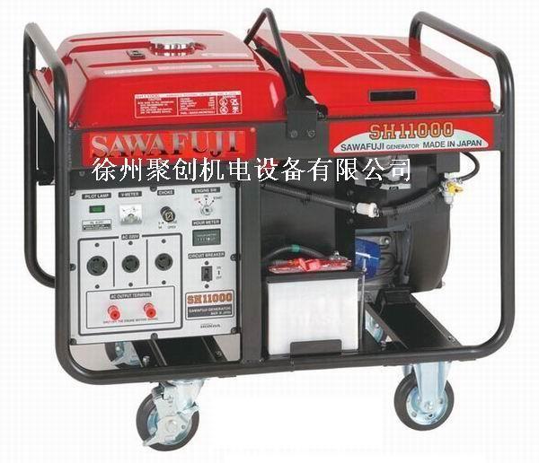 日本泽藤SAWAFUJI汽油发电机SHT11500HVS
