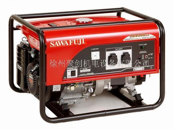 日本泽藤SAWAFUJI汽油发电机SH6500EX