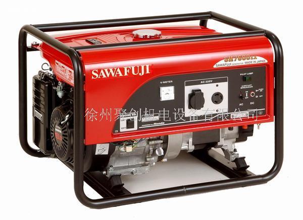 日本泽藤SAWAFUJI汽油发电机SH7600EX