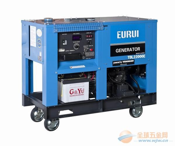 原装日本东洋柴油车载发电机组TDL22000E