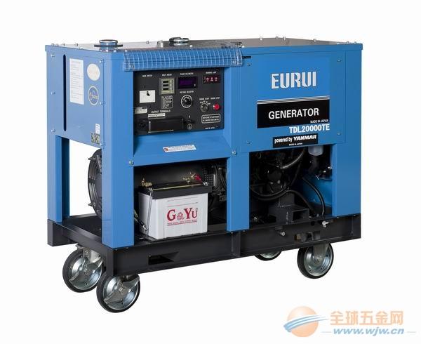 原装日本东洋柴油车载三相发电机组TDL20000TE