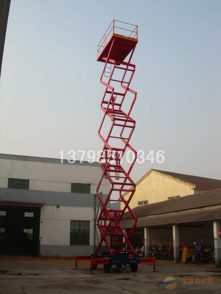 深圳高空升降平台,工地专用四轮移动式作业平台