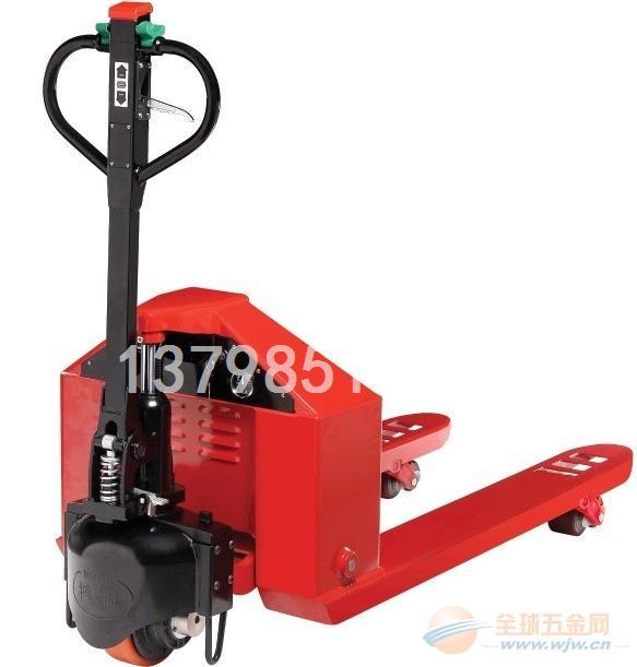 正品鸿福手拉电走式拖板车H1501