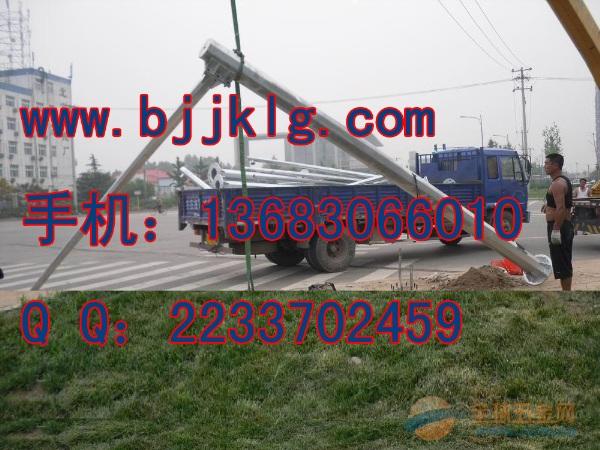 北京八角形道路监控立杆生产商