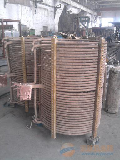 2T中频炉线圈,西安蓝辉机电生产