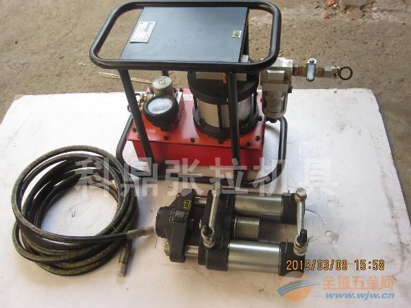 矿用锚索张拉机具(气动)MQ18-200/60.安标号:MEF1200439。