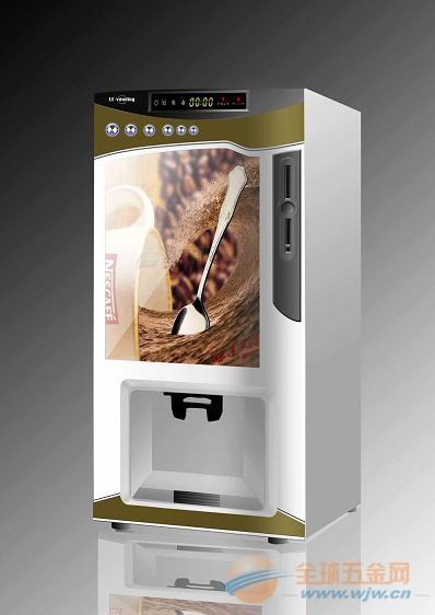 F303V自动投币咖啡机,投币落杯,三种热饮