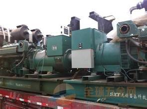 广州康菱发电机回收