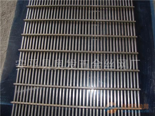 洗煤厂用不锈钢矿筛网材质_条缝焊接过滤筛网价格