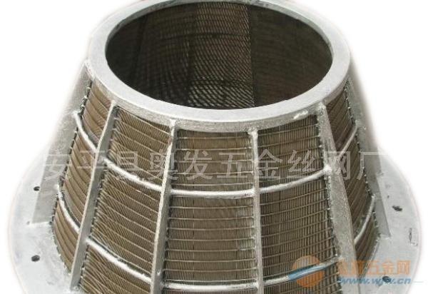 洗煤厂用不锈钢条缝矿筛网