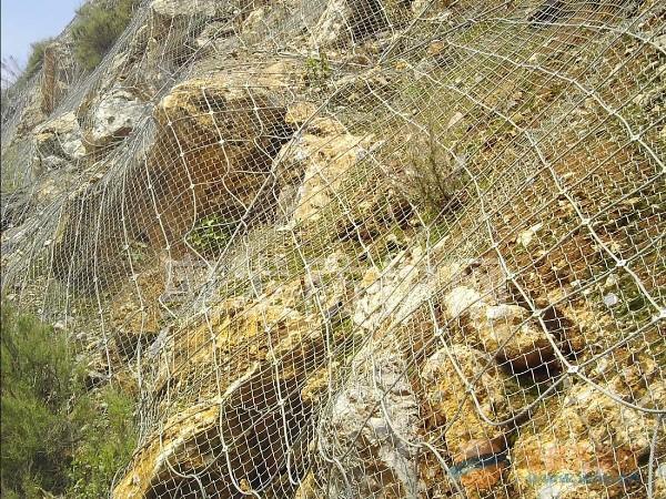 公路山体护坡TECCO钢丝格栅网价格