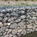 路基边坡防护格宾网箱_边坡绿化宾格石笼价格