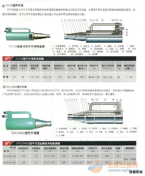 YCJ26-200型千斤顶