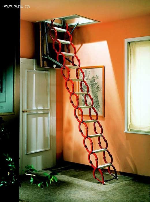 豪华伸缩楼梯